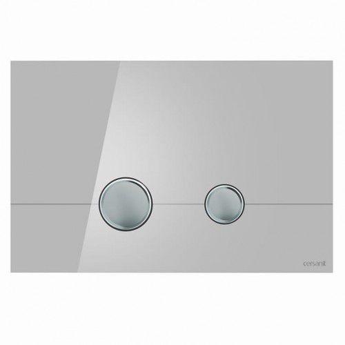 Cersanit przycisk stero szkło szare k97-370