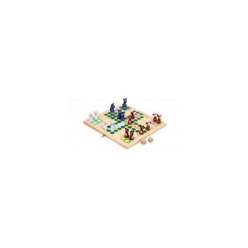 Chińczyk drewniany Gra dla Dzieci Farma, 6257