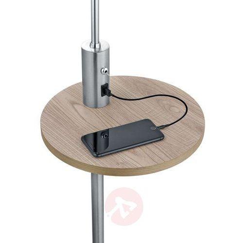 Lampa stojąca leuchten claas nikiel matowy, 1-punktowy - nowoczesny - obszar wewnętrzny - claas - czas dostawy: od 3-6 dni roboczych marki Trio
