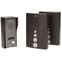 Zestaw domofonowy ORNO DOM-RE-920 Eluvio Intercom jednorodzinny Czarny