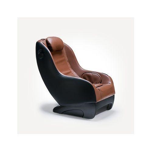 Fotel masujący Massaggio Piccolo, kolor brązowy