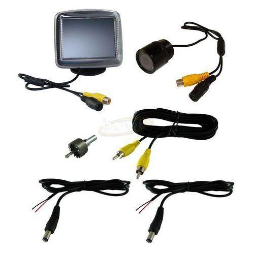 """Zestaw cofania do samochodu - kamera cofania + monitor LCD 3,5"""" z kategorii kamery cofania"""