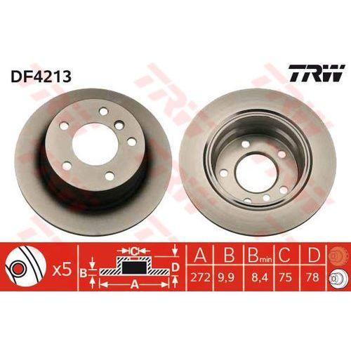 TARCZA HAM TRW DF4213 BMW E36 COMPACT 316 95-00, 318TDS 95-00, 318TI 95-00 (3322937321100)
