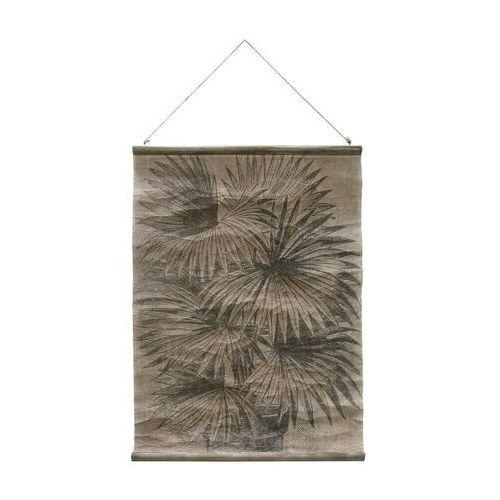 plakat vintage: liście palmy awd8855 marki Hkliving
