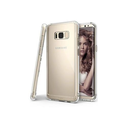 Samsung Galaxy S8 - etui na telefon Ringke Fusion - transparentny