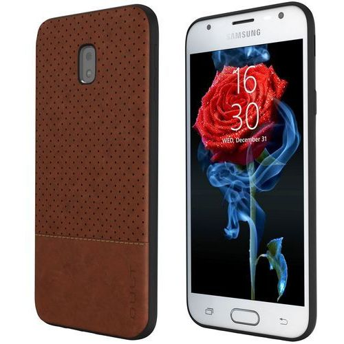 Etui QULT Back Case Drop do Samsung J5 2017 Brązowy, kolor brązowy