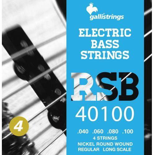 rsb40100 - struny do gitary basowej marki Galli