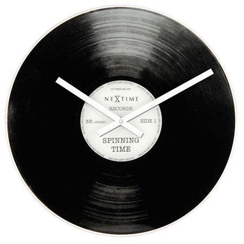 Zegar Nextime Spinning Time Little 20 cm, 5163