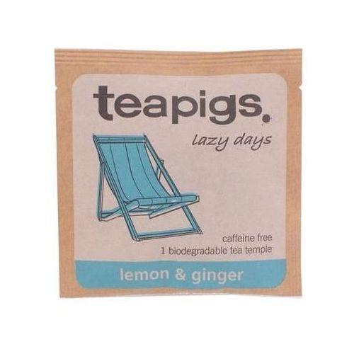 lemon & ginger - koperta marki Teapigs