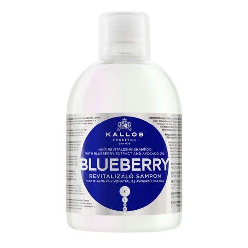 Kallos  blueberry jagodowy szampon rewitalizujący 1000ml, kategoria: mycie włosów