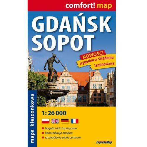 Gdańsk Sopot 1:26 000 kieszonkowy plan miasta (2006)