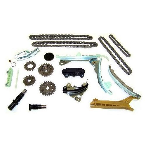 Rozrząd kpl łańcuchy ślizgi koła zębate oraz napinacze ford explorer 4,0 v6 1997-2006 marki Diamond power