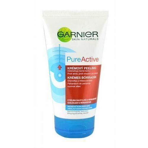 pure active kremowy peeling przeciw zaskórnikom (cream peeling) 150 ml marki Garnier