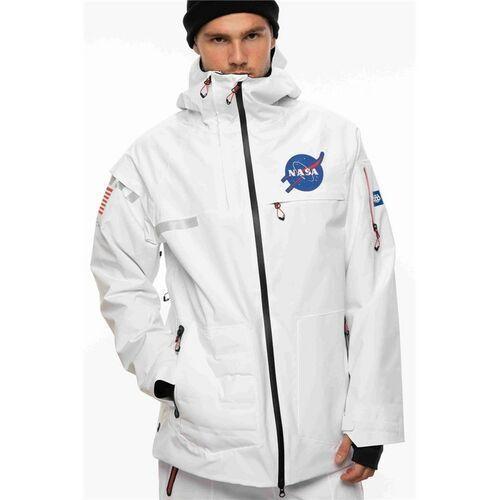 kurtka 686 - Mns Nasa Exploration Thrma Jkt White (WHT), kolor biały