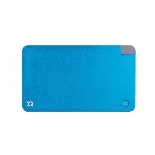 PowerBank XQISIT 5000mAh 21704 Niebieski + DARMOWA DOSTAWA! + Gwarancja dostawy przed Świętami!