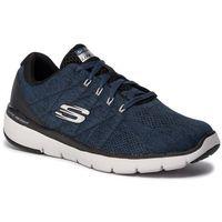 Buty SKECHERS - Stally 52957/BLBK Blue/Black