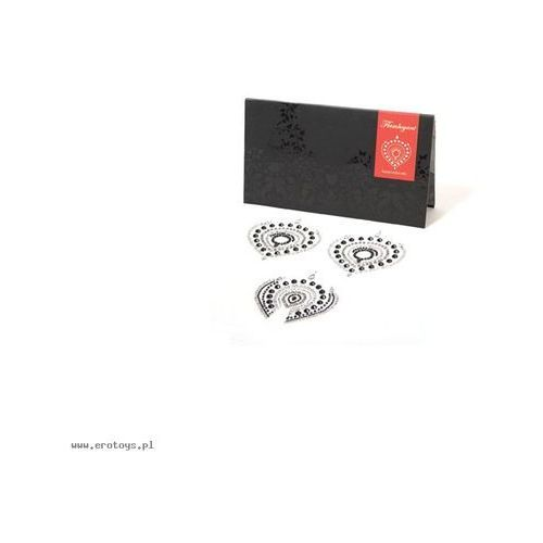 Bijoux indiscrets - flamboyant, srebrno-czarne marki Bijoux indiscrets (sp)