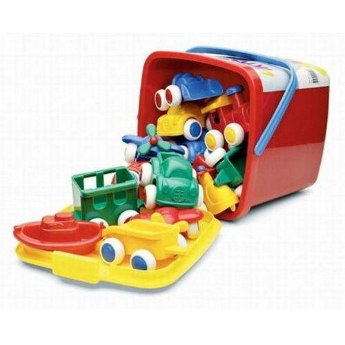 Wiaderko z pojazdami, 15 sztuk - Viking Toys