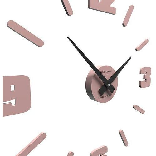 Zegar ścienny michelangelo mały jasnobrzoskwiniowy (10-304-22) marki Calleadesign