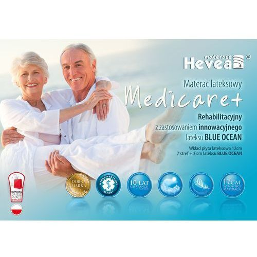 Hevea Materac lateksowy family medicare+