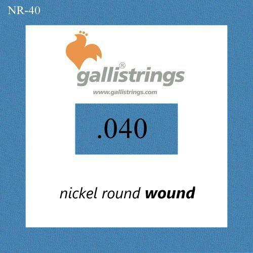 nr040 - pojedyncza struna do gitary basowej marki Galli