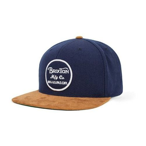 czapka z daszkiem BRIXTON - Wheeler Navy/Copper (0836) rozmiar: OS