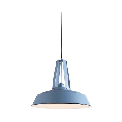 Lampa wisząca vintage niebieska 43 cm - Living
