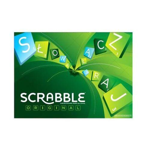 Mattel Gra Scrabble Original - DARMOWA DOSTAWA OD 250 ZŁ!!
