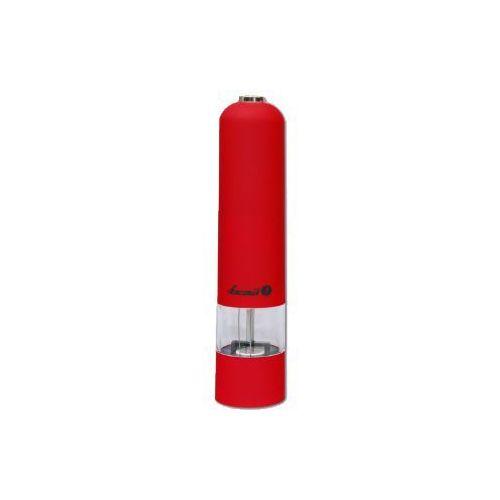 Młynek do soli, pieprzu i przypraw Łucznik PM-101 czerwony, Łucznik PM-101 czerwony