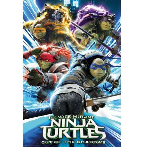 Wojownicze żółwie ninja Wyjście z cienia - plakat