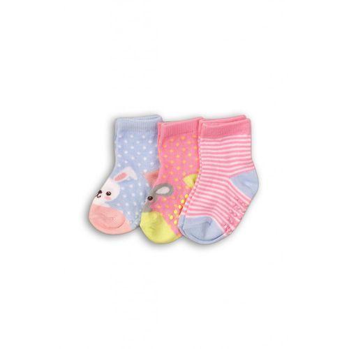 Skarpety niemowlęcych z ABS 3pak 5V35AG