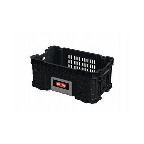 """KETER Gear Crate 22"""" Skrzynka narzędziowa Czarny - DARMOWA DOSTAWA OD 95 ZŁ!"""