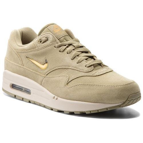 Buty NIKE - Air Max 1 Premium Sc 918354 201 Neutral Olive/Metallic Gold, kolor zielony