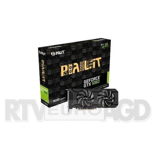 Palit  geforce cuda gtx 1060 3gb ddr5 192bit - produkt w magazynie - szybka wysyłka!