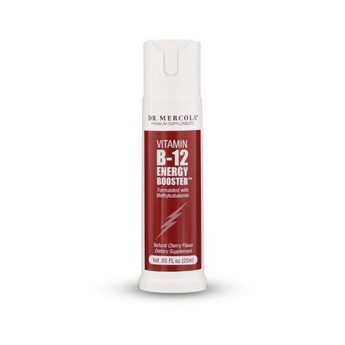 Spray Kenay Dr Mercola Witamina B12 Energy Booster Metylokobalamina 25ml Spray - suplement diety