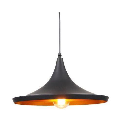 Lumina deco Lampa wisząca loft industrialna czarna foggi 12c