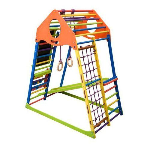 OKAZJA - Wielofunkcyjny plac zabaw dla dzieci inSPORTline Kindwood Set Plus