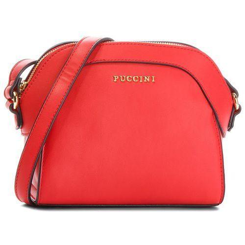 Torebka - bt18495 red 3c marki Puccini