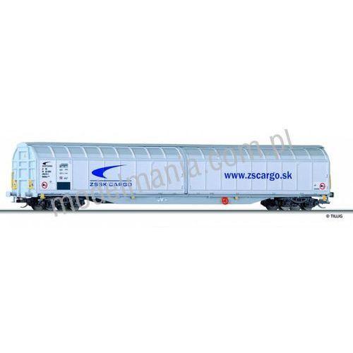 Tillig Wagon ze ścianami przesuwnymi typ habbillns, zssk cargo  15806