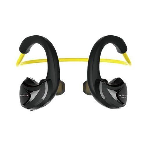Sportowe Słuchawki Douszne Bluetooth Awei A880BL Black/Yellow