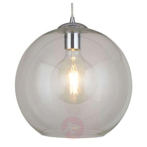 Szklana lampa wisząca balls, 30 cm, przezroczysta marki Searchlight