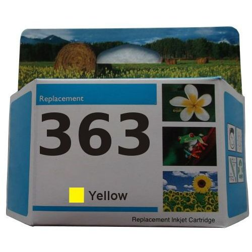 zastępczy atrament HP 363 [c8773ee] yellow 100% nowy