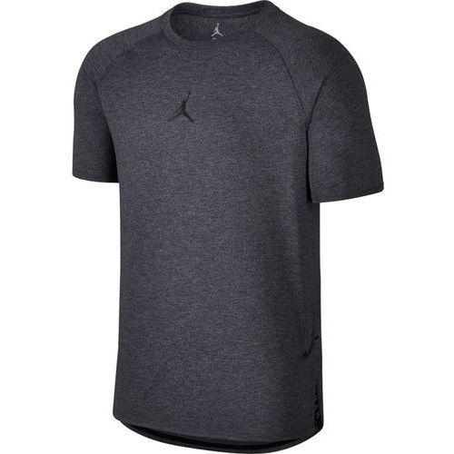 Nike Koszulka air jordan 23 tech short sleeve - 833784-071 - charcoal heathr/black