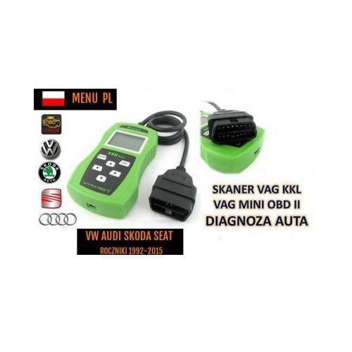 Skaner/Interfejs Diagnostyczny Obsługujący Pojazdy z Grupy VW + Menu PL itd., 590234032898
