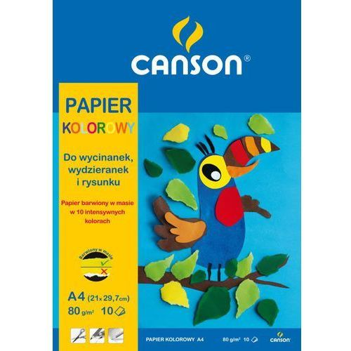 Canson Blok rysunkowy a4/10k. 400-202 kolorowy
