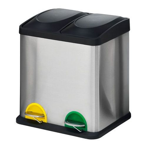 Pojemnik do sortowania odpadów Addison, 2 przegrody, 30 L, 246832