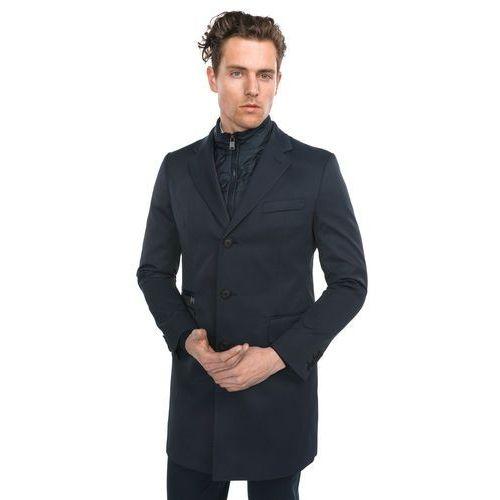nadim3 płaszcz niebieski xxl marki Hugo boss