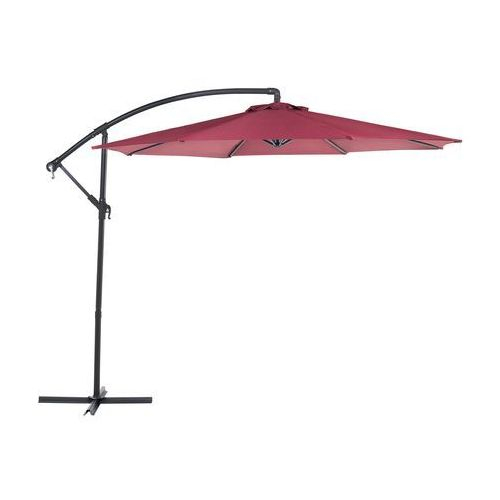 Parasol ogrodowy Ø300 cm burgundowy RAVENNA