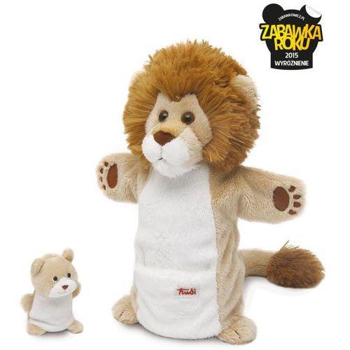 Pacynki na rękę Lwica i lwiątko - mama i dziecko