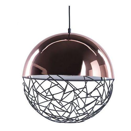Beliani Lampa miedziana - sufitowa - żyrandol - lampa wisząca - padma (7105273561524)